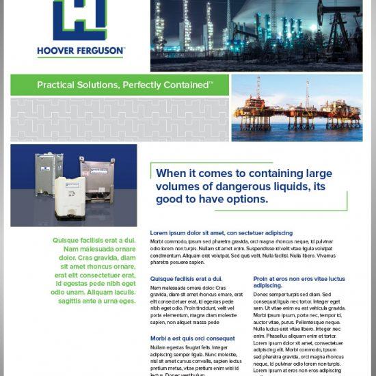 HF sales sheet