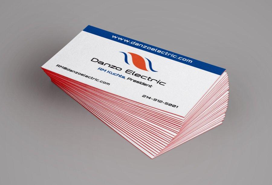 Danzo biz card